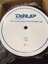 """Nylon hook & loop fastening tape 2"""" loop, black, 50 yd roll (NEW)"""