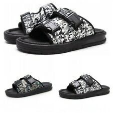 Camouflage Men Open Toe Outdoor Casual Flat Beach Slip On Sand Slippers Summer B