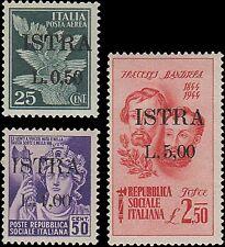 LITORALE SLOVENO - OCC JUG, ISTRIA SOVR. N. 22/36, OTTIMA, MLH. RAY. RIF 680-107
