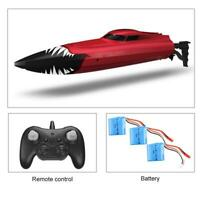 Remote Control Boat 2.4G Racing RC Boat 28KM/H High Speed 180° Flip Toy Kid Gift
