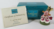 WDCC Disney Classics and the King Alice in Wonderland King of Hearts Box & COA