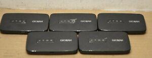 Lot of 5 Alcatel Linkzone 4G LTE Mobile Hotspot MW41TM - Black UNITS ONLY.