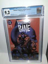 Batman Vengeance of Bane #1 CGC 9.2  1st Print 1993 1st Bane DC Comics