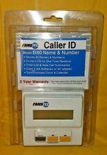 Fanstel Model B80 Caller Id New Telecom Fans W/ Call Memory ~ Brand New Sealed