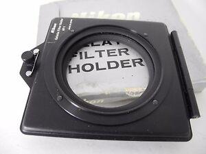 Nikon AF-1 Gelatin Filter Holder - Nice 52mm filter ring lens BOXED