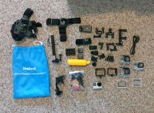 GoPro Hero4 Silver Camcorder with lots of accessories