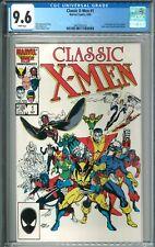 Classic X-Men #1 CGC 9.6 NM+ WP Marvel Comics 9/861986