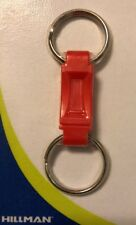 Hillman 711075 Pull Apart 2-Ring Key Ring, Plastic, Color Varies