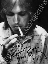 TOM PETTY  - print signed photo - foto con autografo stampato
