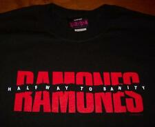 THE RAMONES HALF WAY TO SANITY T-Shirt 2006 LARGE NEW PUNK