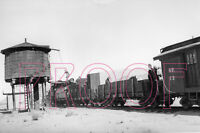 Southern Pacific Narrow Gauge Engine 18 at the Keeler Water Tower - 8x10 Photo
