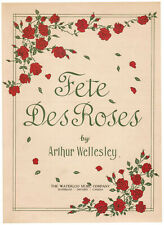 ONE OF A KIND & NEAR-PERFECT: 1928 Music, FETE DES ROSES + EXTRA OFFER