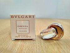 Omnia Crystalline Bvlgari for women 5ml EDP MINI MINIATURE PERFUME FRAGRANCE