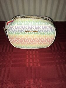 Michael Kors Limited Edition Rainbow Pride Oval Crossbody Bag NEW 2021