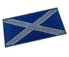 1 x Fancy Saltire Scottish Flag Sew 'n' Iron On Patch Motif