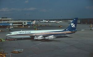 original aircraft slide01 Dia Boeing 707 Cyprus Airways 5B-DAL