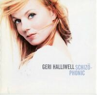 GERI HALLIWELL schizophonic (CD, album) europop, pop rock, ballad, spice girls,