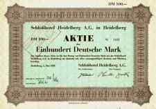 Schloßhotel Pr. Schwenninger 1950 Heidelberg Deidesheim 100 DM  Hotel Bellevue