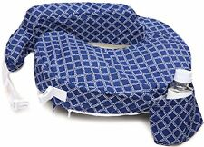 Zenoff Products My Brest Friend Original Nursing Pillow Slipcover Navy White