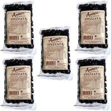 5x Amarelli - Spezzata liquirizia pura 5 confezioni da 100gr ciascuna g 500 tot