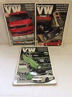 **x3 Performance VW - Volkswagen Magazines 2011 - Great Read !!