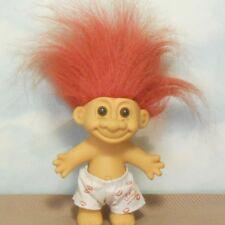 "Russ 4.5"" ""Hot Stuff"" lucky Troll Doll: shorts w/message/red lips"