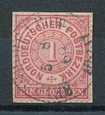 316404) NDP Briefst.Nr.16 mit nachverw. Preußen Stpl. Beyersdorf Pom.gp. Spalink