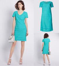 Per Una V-Neck Short Sleeve Casual Dresses for Women