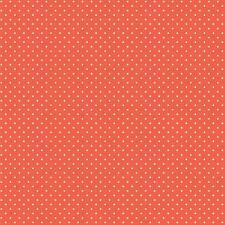 Baumwollstoff Pünktchen Orange METERWARE Webware Popeline Stoff Dots