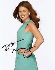 Debra Messing Will & Grace signed 10x8 photo AFTAL & UACC In Person COA [15147]