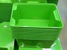 10x IKEA Box Grün Boxen Kasten Kiste Spielzeugkiste Aufbewahrungsbox Lagerbox