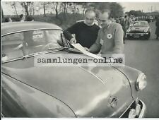 OPEL Rekord 1954 6. Tour de Belgique Rallye Foto Auto Photograph Photo