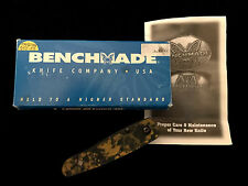 --PROTOTYPE--Benchmade 855-08 AL BLK/GOLD Knife - BT2 855/June 2001 -Collection
