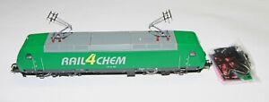 Roco H0 69564 E-Lok Rail4Chem 145 CL 004 grün digital mit Roco Dec. Adr.3 OVP