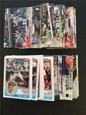 2018 Topps Boston Red Sox Master Team Set Series 1 2 Update 80 Cards All Inserts