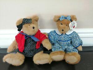 Boyds Bears Plush Fabric Heart To Heart Teddy Bear  with tags