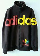 Rare Adidas Rasta Collection Track Jacket L Retro Vintage Sport Marley
