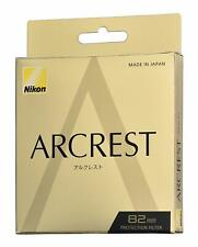 Brand New Unused Nikon Arcrest Protection Filter 82mm AR Coat NC Protector