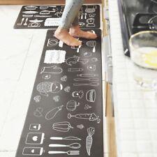 Kitchen Non-Slip Floor Mat Rug Door Large Runner Carpet Waterproof Oil-resistant
