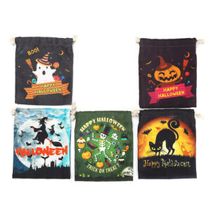 Gold Velvet Cloth Candy Bag Decoration New Style Halloween Decoration Props YS