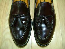 Men's Dress Shoes ALDEN 3670 Loafer Sz 9 D Burgundy SHELL CORDOVAN!