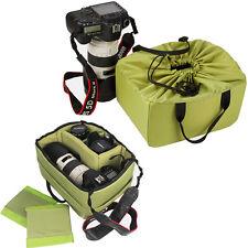 DSLR SLR Camera Lens Padded Insert Bag Organizer Partition Handbag Case Holder