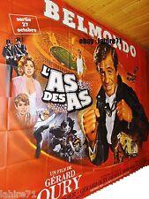 belmondo L' AS DES AS  !  affiche cinema geante 4x3m mascii
