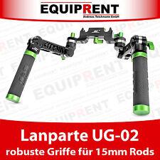 Lanparte UG-02 robuste Griffe mit Quick Release  für Rigs mit 15mm Rods (EQ491)