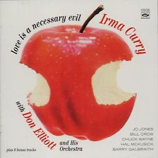 Irma Curry & Don Elliott: Love Is A Necessary Evil (+ 6 Bonus Tracks)