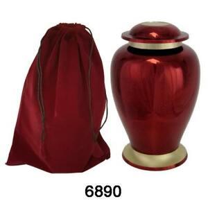 Full size adult cremation urn  keepsake ashes urn.     (6890)