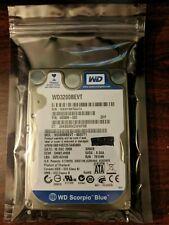 "Western Digital Scorpio Blue WD3200BEVT 320GB SATA 5400RPM HDD 2.5"""