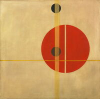 Laszlo Moholy Nagy Suprematistic Giclee Canvas Print Paintings Poster Reproducti