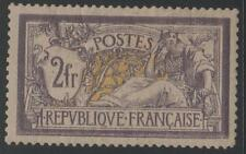 "FRANCE STAMP TIMBRE N° 122 "" MERSON 2F VIOLET ET JAUNE "" NEUF xx A VOIR   K438"