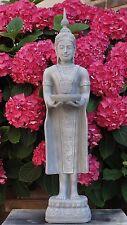 Thai Buddha Stehend Budda Teelichthalter Statue Garten Figur Tempelwächter  F23